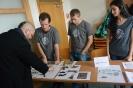 Ukážka kovových predmetov z výskumu hradu Oponice